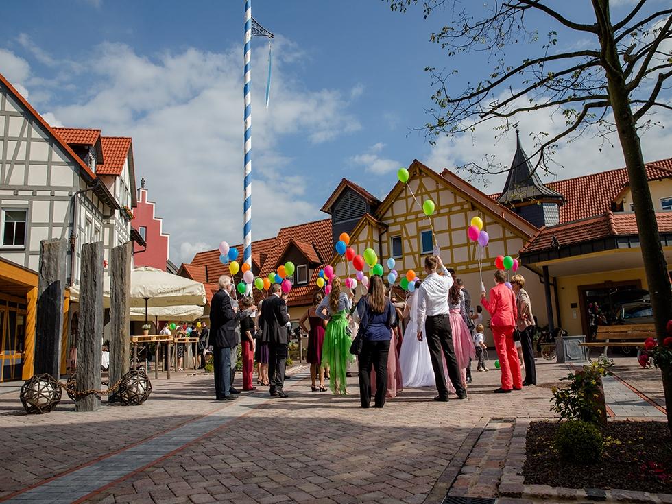 Bruiloft-met-ballonnen
