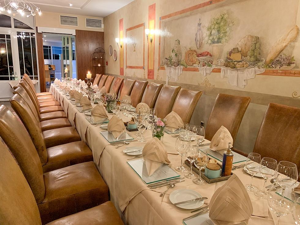 Vier feest in het Seehotel Niedernberg bij Aschaffenburg