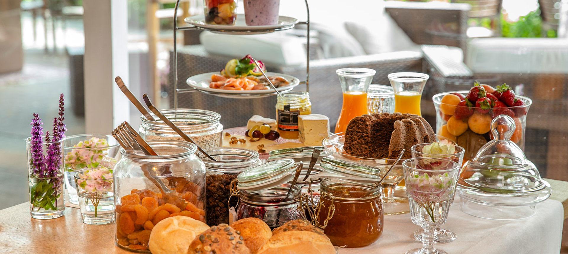 Mit unserem Vital-Buffet schaffen Sie sich die hervorragende Grundlage für den Tag!