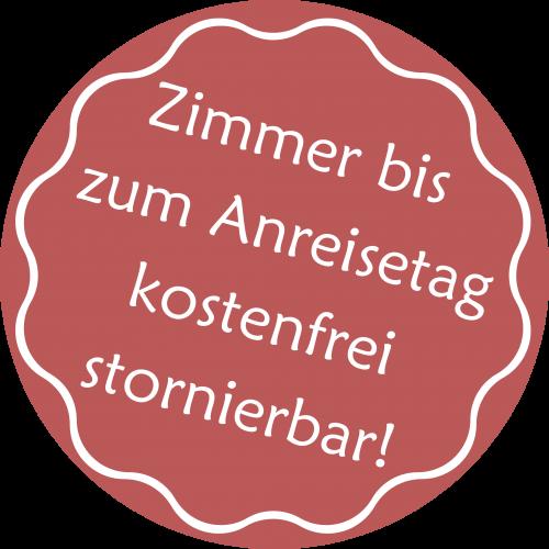Button Zimmerstorno