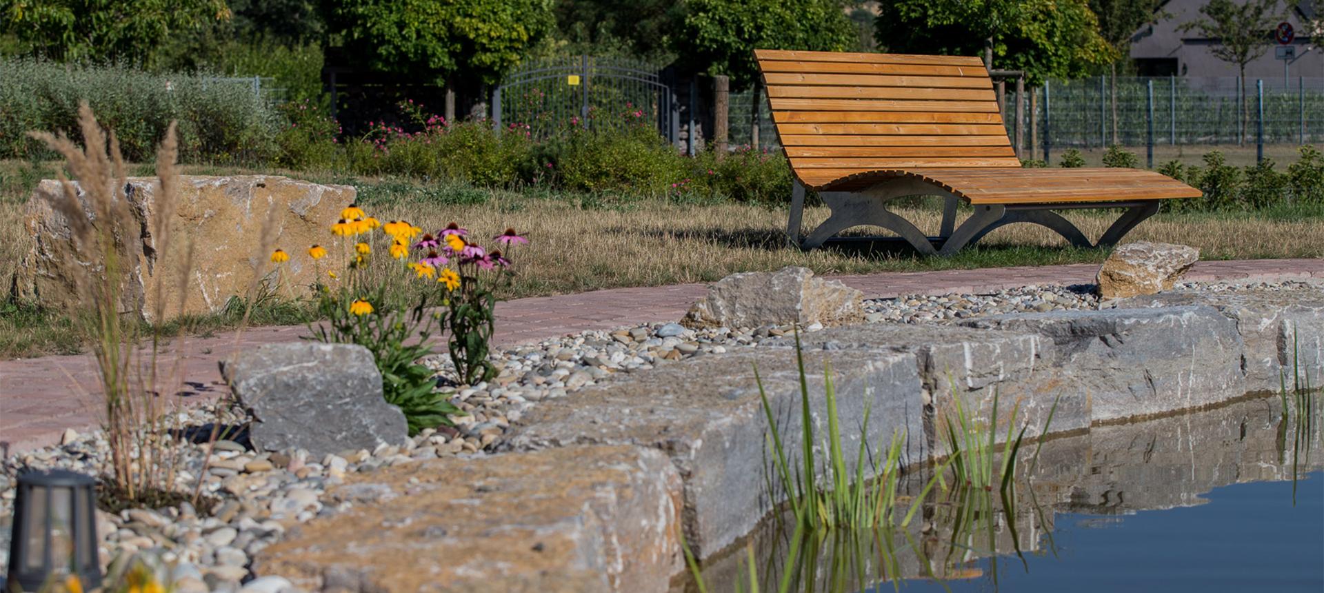 Wiejski ogród w Seehotel Niedernberg
