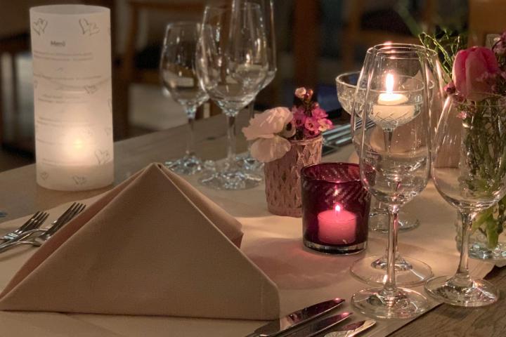 Candlelight-Arrangement