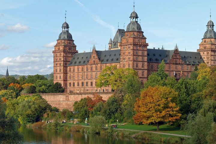 Zamek Aschaffenburg