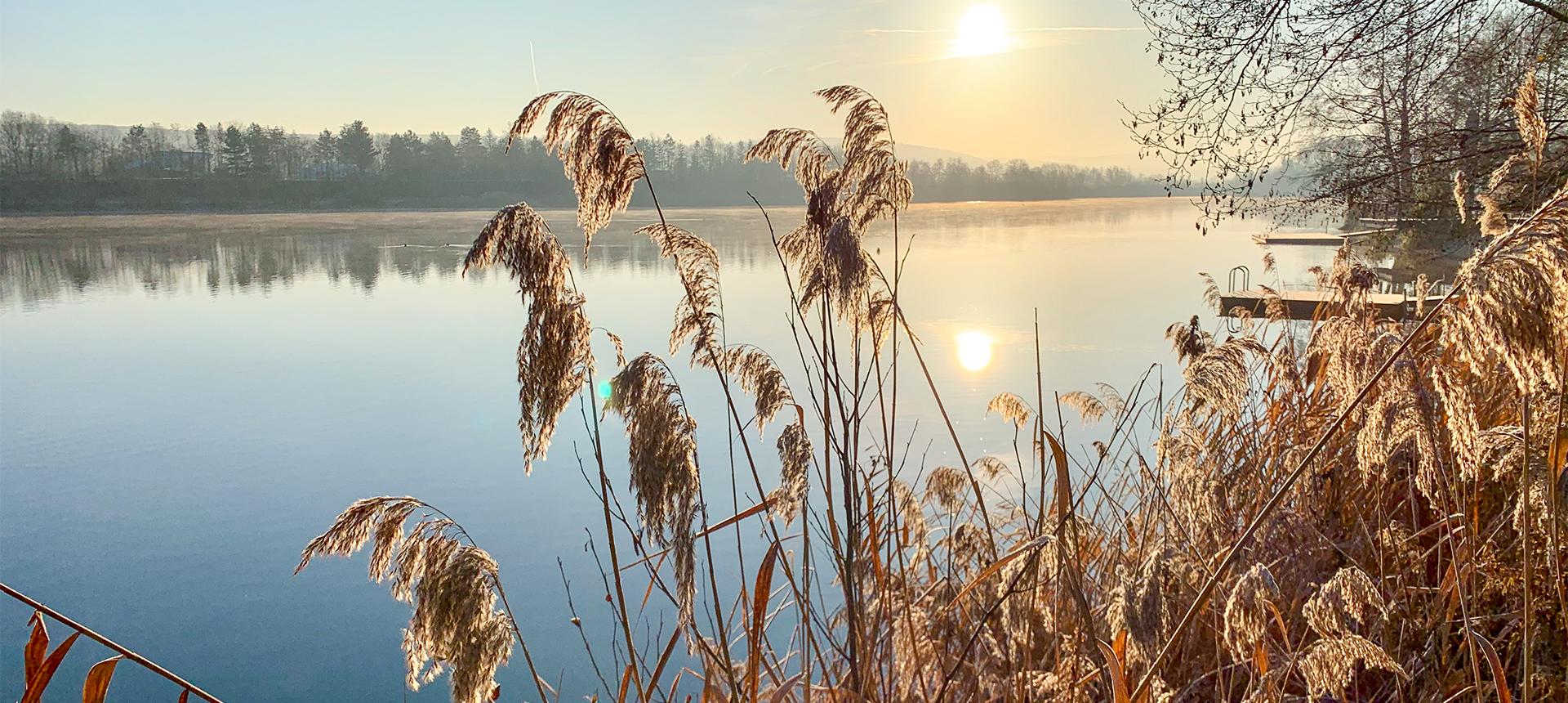 Süße Winter-Urlaubszeit